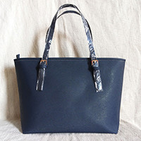 Wholesale 22 zipper for sale - Group buy 2020 new Europe and the United States new ladies large capacity handbag color fashion high quality PU leather shoulder bag
