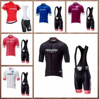 TOUR DE ITALY team Cycling Short Sleeves jersey bib shorts sets men new  style Breathable fast day Short Bib Shorts Sets Q20203 35985356e