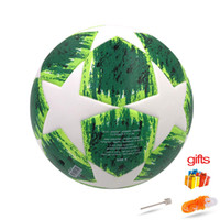 Wholesale 2018 new season Premier Soccer Ball Official Size Football Goal League Balls Training Balls voetbal bola de futebol champion