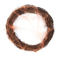 Wholesale garlands high quality for sale - Group buy 2019 New Halloween Decoration Pendant Spider Silk Circle Scene Layout Ornaments Garland High Quality