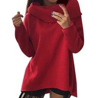 grande fashion оптовых-Новый повседневная зима женская мода с длинным рукавом чистый цвет топ рубашка дамы блузка женщины толстовка harajuku ariana grande 10