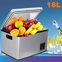 Wholesale portable ac for cars online – Car Refrigerator L AC DC Portable Warmer and Freezer Touch Screen Control Easy for Moving Home Picnic Camping Party