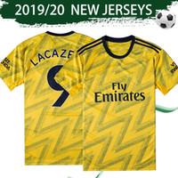 erkekler için uniform gömlekler satışı toptan satış-Beden S-4XL ARS Deplasman Sarı Futbol Forması 2019/20 Gunners Deplasman erkek Futbol Forması 2019 Highbury # 14 Henry Futbol Forması Satış