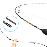 Wholesale fishing rod tip lights resale online - UL spinning FIshing Rod g test Fast action m Spinning rod for light Jigging trout With Solid tip sections Carbon