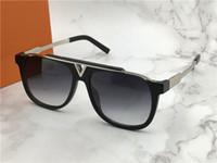 construir lentes venda por atacado-Louis Vuitton LV0937 Designer de luxo Óculos De Sol Grande Quadro Elegante Especial Incrustada Colorido Diamante Quadro Lente Circular Embutida de Alta Qualidade Com Caso