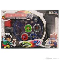 Wholesale beyblade toys free resale online - set Beyblade Arena Spinning Top Metal Fight Beyblad Beyblade Metal Fusion Children Gifts Classic Toys