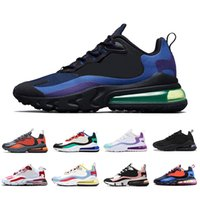 nike air max 270 react shoes airmax react 270 Hyper Jade BAUHAUS React men women running shoes Blue Void Bright Violet Electro Green Pink mens trainer