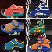 Wholesale toddlers footwear resale online - Sandal Shoes Kids Footwear Children Sandals Toddler Kids Sandals Boy Girl Baby Shoes Childrens Baby Summer Sandals Infant Shoes