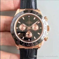 Wholesale surface wristwatches for sale - Group buy 2019 new best selling quality men s watch black face day tona series LN k Royal automati ceramics Sapphire Surface men s wristwatch