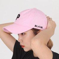 chapéu do pop de k venda por atacado-YOUPOP KPOP Blackpink Preto Rosa Chapéu Chapéu K-POP Novo Design de Moda Clássico Boné de Beisebol do Hip-hop Bordado Logotipo Cap LU6277