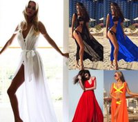 Wholesale beach transparent clothes for sale - Group buy Europe and the United States posed couture dress sexy lace up transparent beach dress princess dress women s clothing