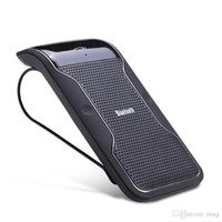 Wholesale clip sun visors for cars for sale - Group buy Wireless Handsfree Bluetooth Car Kit with Sun Visor Clip holder Drive Talk LD158 Car Speakerphones For iPhone Galaxy