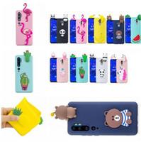 Wholesale huawei silicone 3d for sale – best 3D Doll Cartoon Case For Huawei P Smart Enjoy S Honor A Xiaomi Redmi NOTE S LITE Fruit Cute Phone TPU Soft Panda Unicorn Cover