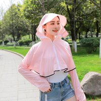 Wholesale polyester sport jackets for women for sale – winter Brand Sun protective Clothing Women Designer Jackets Outdoor Sport Causal Jacket for Women Summer UV Protection Thin Coat Colors