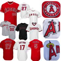 cdd2456d0 Wholesale angels jerseys online - Los Angeles Mike Trout Jersey Angels  Shohei Ohtani Simmons Pujols Fletcher