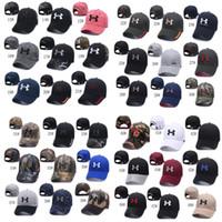 прикольные хип-хоп шляпы оптовых-Мужская марка бейсбольная кепка Casquette Мужчины Женщины Козырьки Кепки Snapbacks Шапка Спортивная кепка в стиле хип-хоп Камуфляж Регулируемые шапки Летняя шляпка от солнца