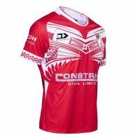 rugby jerseys free shipping 도매-2019 TONGA RUGBY LEAGUE HOME 저지 S - XXXL 유니폼 럭비 리그 유니폼 셔츠 최고급 무료 배송