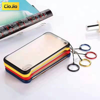 Wholesale ring for phone samsung for sale – best Casing Samsung Note10 S8 S9 S10 Plus S10e Transparent Hard PC Matte Phone Case With Finger Ring