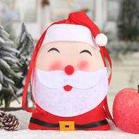 Wholesale penguin decor for sale - Group buy 2020 Xmas Gift Bag Santa Clause Elk Snowman Penguin Cartoon Candy Biscuits Gift Bag Christmas Party Decor for Home New Year