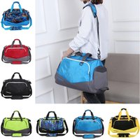 Wholesale luggage nylon for sale - Group buy U A Duffle Bag Travelling Bags Large Capacity Luggage Bag Sports Hand Bag Tote Women Men Nylon Waterproof Excerise Training GYM Pack B71301