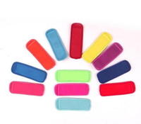 Hot sale High quality Popsicle Holders Pop Ice Sleeves Freezer Edge Covering 18cmX6cm Neoprene Waterproof for Kids Summer Kitchen Tools ST66