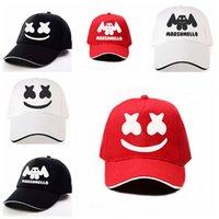 punk stili şapka toptan satış-Yeni 2019 Baskı Marshmello Beyzbol Unisex Yetişkin Yüksek Kalite Spor Açık Şapka Snapback Trucker Punk Tarzı Moda Cap Caps