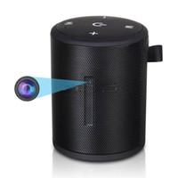 bluetooth mini kaydedici toptan satış-Kablosuz wifi Bluetooth hoparlör IP kamera Full HD 4 K 1080 P Müzik çalar mini kamera Dijital video kaydedici destek hareket algılama