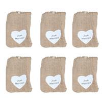 мешки белье шнурок цветочный оптовых-6шт белье шнурок мешок ювелирных изделий сумка для хранения упаковка подарок пользу свадьба сердце шаблон кольцо пакет