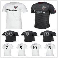 19dc74bfc 2019 2020 D.C. United Soccer Jerseys ROONEY ARRIOLA ACOSTA HARKES STIEBER  Custom 19 20 DC United Home Away Black White Football Shirt