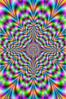 Wholesale illusions paintings for sale - Group buy PULSE SHRINK WRAPPED ILLUSION TRIPPY SILK POSTER Decorative Wall painting x36inch