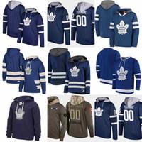ingrosso felpa in foglia di acero di toronto-Felpa Toronto Maple Leafs 91 Tavares A patch 34Auston Matthews Mitchell Marner william nylander Maglia da hockey Felpa cucita