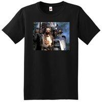 impresión de fotos grandes al por mayor-CAMISETA MONTY PYTHON camiseta con foto póster SMALL MEDIUM LARGE o XL Cómoda camiseta Casual Manga Corta Estampado