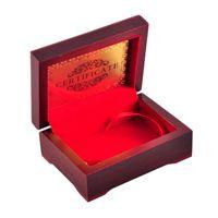 argile de jetons de poker achat en gros de-24K Gold Foil Plated Poker Carte De Jeu De Carte De Jeu De Haute Qualité Sport Loisirs Jeu Cadeau Boîte Avec Certificat Carte DHL navire