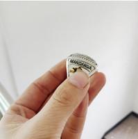 mundo da jóia venda por atacado-2019 Novo 2018 FRANÇA FUTEBOL Campeonato MUNDIAL Anel de Jóias Por Atacado Fãs Presentes de Alta Quanlity