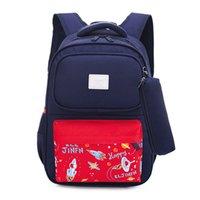 ingrosso vendita di libri di tasca-2019 NUOVA vendita calda multi tasca libro borse zaino moda stella oxford sacchetto di scuola per ragazze ragazzi coppie borsa regalo impermeabile zainetto