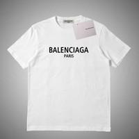 relógios italianos venda por atacado-Balenciaga Mens T Shirt Designer Amigos das mulheres dos homens T Shirt alta qualidade preto Branco Laranja T shirt Tees Tamanho S-2XL # 451219