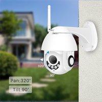 ip wifi sem fio com fio câmera venda por atacado-ANÚNCIO IP Câmera Wi-fi de 2MP 1080 P Sem Fio PTZ Speed Dome CCTV IR Onvif Câmera de Vigilância de Segurança Ao Ar Livre ipCam Camara exterior