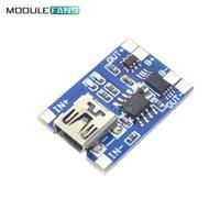 доски для зарядки аккумуляторов оптовых-TP4056 Mini USB 5 В 1A 18650 литиевая батарея зарядное устройство модуль зарядки доска с двойной функции защиты 1A Li-ion