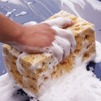 Wholesale sponge for washing cars for sale - Group buy 1 Car Sponge for Car Wash Coral Sponge Auto Washing Cleaning Block Honeycomb Cleaner Tools Accessories