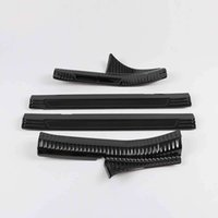 Wholesale interior chrome trim for cars for sale - Group buy Lsrtw2017 Car Door Sill Threshold Trims for Kia Kia Cerato Forte Interior Accessories Chrome Stainless Steel Auto