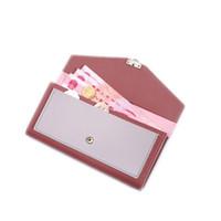 koreanische stil brieftasche großhandel-Neue Frauen Geldbörse Korean Fashion Zip Geldbörse Lange Stil Leder Fringe Bag Classic Multicolor Clutch