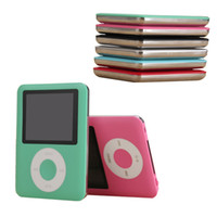 Wholesale pink mp3 player video for sale - Group buy High Quality Metal MP4 with Earphones inch Screen LCD Media gb Video Game Movie FM Radio Recorder Walkman Slim MP3 Music Player