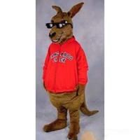 trajes de la mascota del canguro al por mayor-Traje de mascota canguro 2019 Custom envío gratis