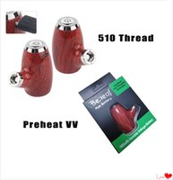 Wholesale adjustable pipe fittings for sale - Group buy Authentic E Pipe Mini Mod mAh Preheating VV Variable Voltage KY32 Thread Vaporizer Battery fit ml vape cartridge e cigarette
