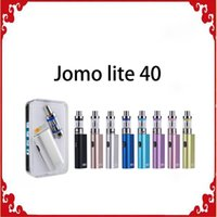Wholesale e cig lite for sale - Group buy Jomo Lite E cig Box Mod Lite w vapor mod kit ml Vaporizer VS Kanger Kbox W DHL