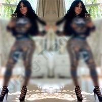 Wholesale girls leopard tracksuits resale online - CHAN Letter Women Clothing Piece Set Designer Tracksuits Luxury Zipper Crop Jacket Top Leggings Two Pieces Outfit Brand Streetwear C61501