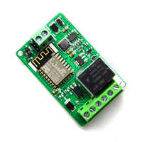 tableros de interruptores al por mayor-ESP8266 WIFI Relay Switch Control Module Red Relay Módulo WiFi Junta de desarrollo