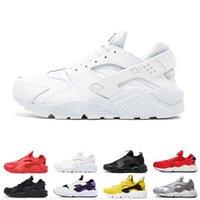 erkekler için huarache toptan satış-İndirimler erkekler kadınlar VARSITY CEKET PURPLE PUNCH için ayakkabı üçlü siyah beyaz pembe erkek spor spor ayakkabıları antrenör çalıştıran huarache