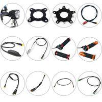 sensör parçaları toptan satış-Bafang Motor Parçaları Dişli Sensör Görüntü Uzatma Kablosu USB Programlama Kablosu Y-Kırıcı Fren Gearsensor Gaz 6V Işık çevirin