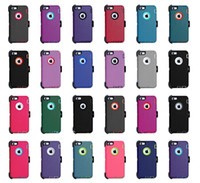 Wholesale iphone dirt free cases for sale – best For iPhone XR X Xs Max Plus Hybrid Robot Crashproof Waterproof Defender Case With Clip Holster